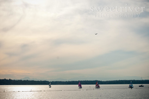 Boat race at sunset at Coulon Beach.